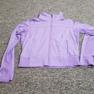 Lululemon Purple Zip up